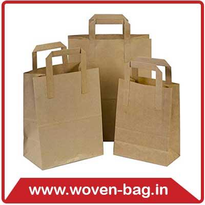 Kraft Paper Bag Supplier in Gandhinagar, India