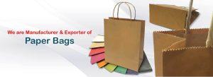 Paper Bag Manufacturer, supplier in Gujarat