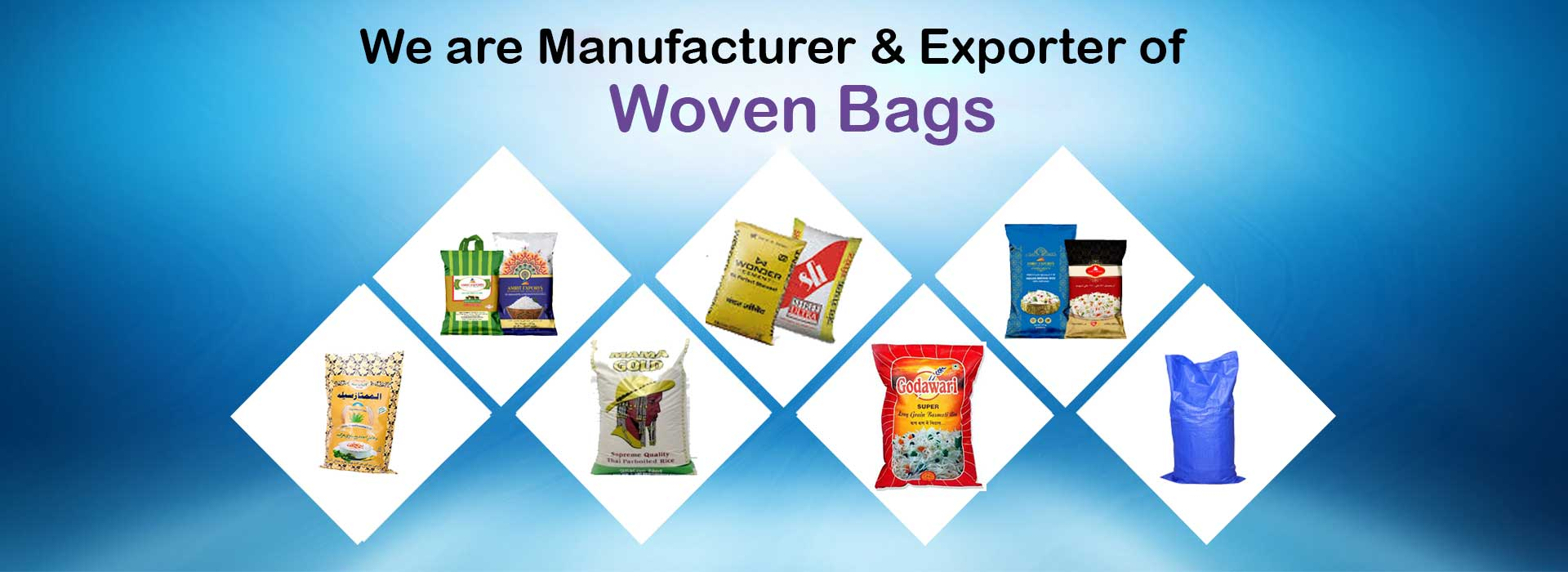 PP, HDPE Woven Bag Manufacturer in India