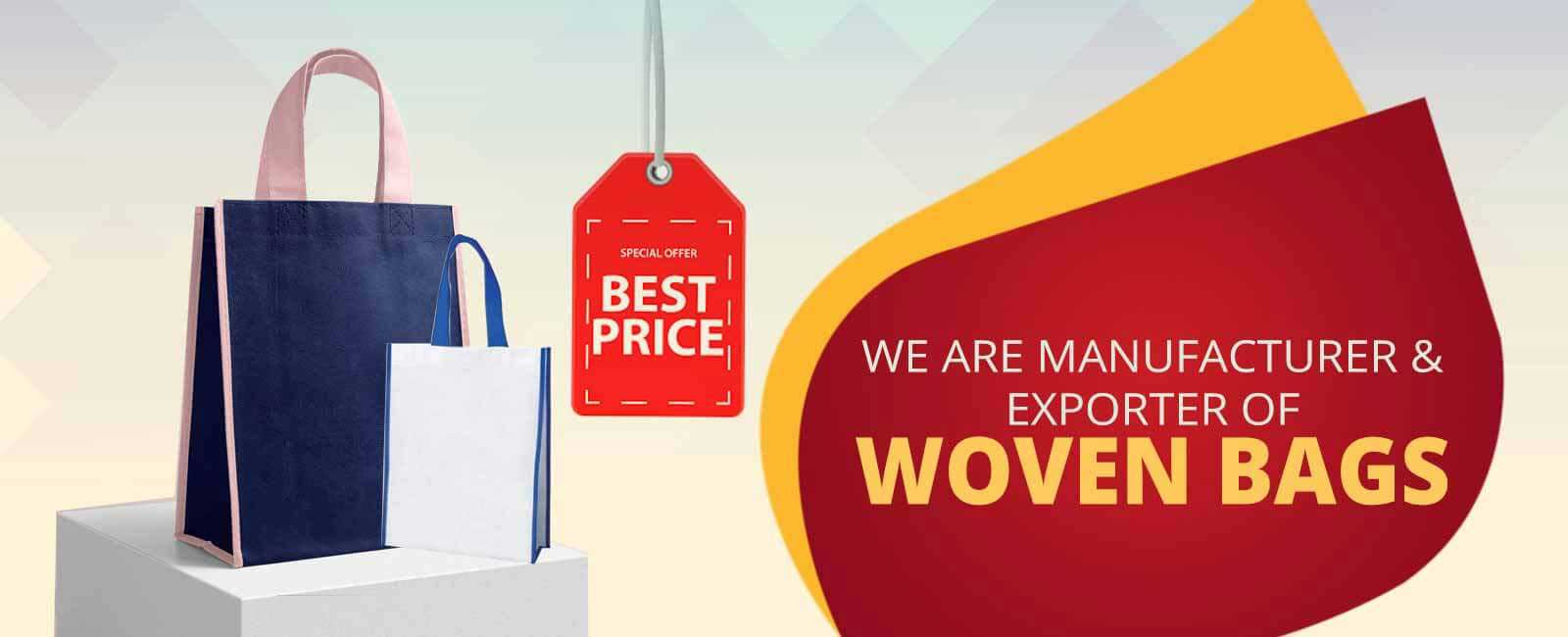 woven bag manufacturer in India